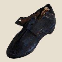 Salesman Leather Shoe Sale with Card