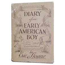 1962 Diary of an Early American Boy Eric Sloane