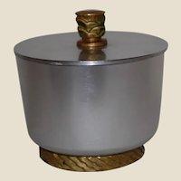Art Deco Alcoa Kensington Ware Snack Cracker Jar