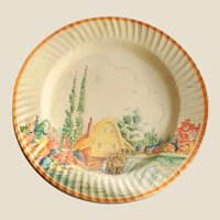 1920-30's Decorative 'Smart-Set' Paper Plates in Package
