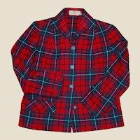 Pendleton Fall jacket in Royal Stewart Plaid