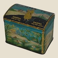Darma Tea Tin :Tea for Gods and God of Tea