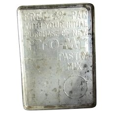 Py-O-My Pastry Mix Advertising Cookie Sheet Tin
