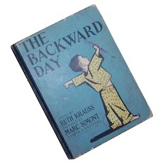 The Backward Day 1950 by Ruth Kraus Marc Simont