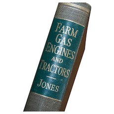 1952 Farm Gas Engines and Tractors by Fred R Jones