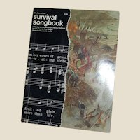 The Sierra Club Survival Songbook 1971 Pete Seeger Don McLean