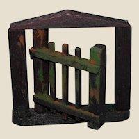Dollhouse English Garden Gate