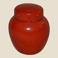 Miniature Dollhouse Oriental Ginger Jar