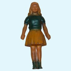 Hard Rubber Gerber Dollhouse Doll