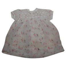 Infant or Baby Doll Sheer Summer Dress with Balloon Girls
