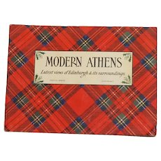 Moderns Athens, Latest Views of Edinburgh Castle Series Early Photography Book