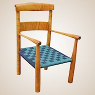 Early Tiger Maple Children's Chair