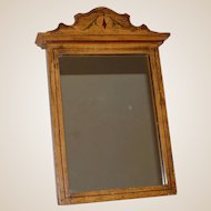 Painted Cottage Faux Grained Wall Mirror