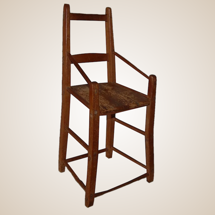 Brilliant Primitive High Youth Chair Gmtry Best Dining Table And Chair Ideas Images Gmtryco