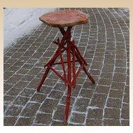 Adirondack Twig Painted Stand