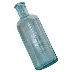 Antique Moses Atwood Jaundice Bitters Pharmaceutical Medicine Bottle