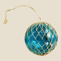 Souvenir Glass Nautical Float Ornament Suncatcher