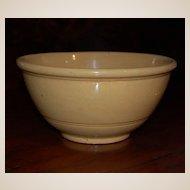 Vintage Yellow Ware Bowl Stoneware