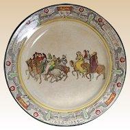 "Chaucer's Canterbury Pilgrims Royal Doulton England 10 1/2"" Plate"