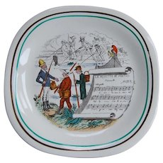 PV Opera Side Dish Plate England
