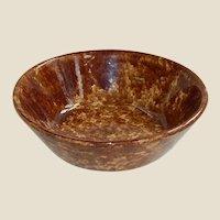 Rockingham Glaze Cream Bowl