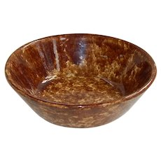 Rockingham Glaze Cream Bowl