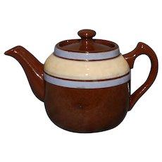 Tiny Sadler England Teapot Lavender Stripe