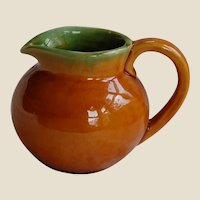 Becky Brown Karl Martz Studios Small Art Pottery Creamer Pitcher