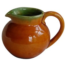 Becky Brown Karl Martz Studios Small Art Pottery Creamer Pitcher