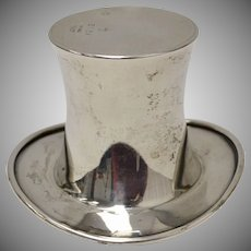 Reed & Barton Sterling Silver Top Hat