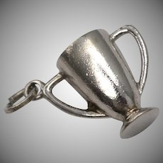 Sterling Silver Trophy Dangle Charm