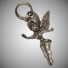 Sterling Silver Walt Disney TINKERBELL Fairy Dangle Charm