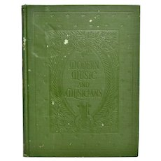Circa 1918 Modern Music & Musicians Volume VII Compositions for Piano Hardcover