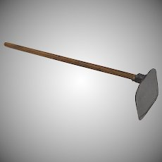 Dollhouse Miniature Garden Draw Hoe Tool