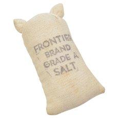"""Dollhouse Miniature """"Frontier Brand Grade A Salt"""" Bag"""