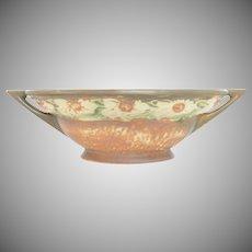c1928 Roseville Art Pottery Dahlrose Pattern Bowl Planter Jardiniere