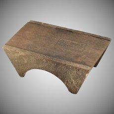Dollhouse Furniture Wood Table