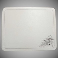 "Corning Forest Fancies Mushroom 12"" x 15"" Counter Saver Cutting Board"