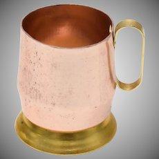 "Pink Aluminum Miniature 1 1/4"" Tall Beer Mug"