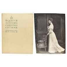 """Queen Alexandra's Christmas Gift Book - Photographs From My Camera"" Hardcover Photo Album"