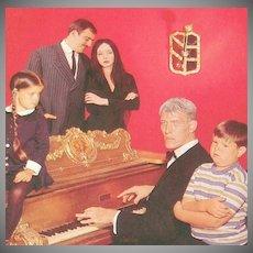 1984 American Postcard Co ~ Addams Family Color RPPC ~ USA