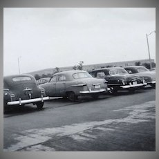 1953 Car Parking Lot at Pentagon B/W Photo