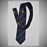 Circa SK Beveren ~ Anglo-Continental Navy Blue Men's Tie