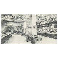 1909 Maillard's Chocolates ~ Bon Bons & Novelties Real Photo Postcard