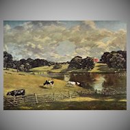 Constable ~ Wivenhoe Park Reproduction Art Print