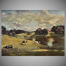 Constable ~ Wivenhoe Park Reproduction Art Print