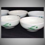 Homer Laughlin/Mayer China ~ Set of 6 Dessert/Cereal/Soup Bowls