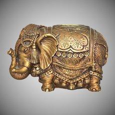 1967 Universal Statuary ~ Circus Elephant Bank