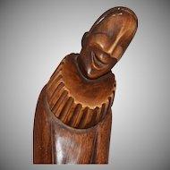 1962 Artistic Royal Krafts ~ Large Jester Sculpture
