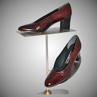 Stuart Weitzman ~ Rust Brown Leather Pumps/Heels ~ Size 6
